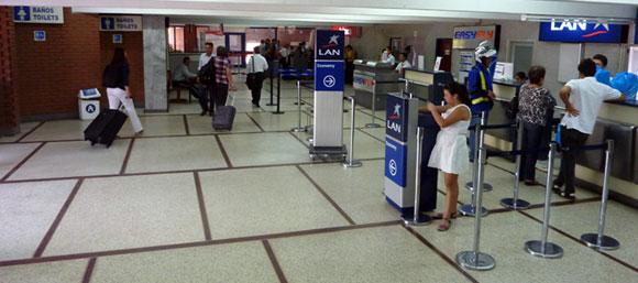 Aeropuerto Benito Salas Vargas