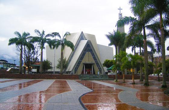 La Inmaculada Cathedral on Plaza de Bolivar