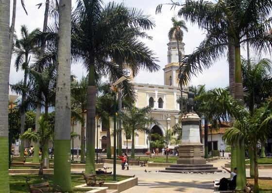 Bucaramanga's historic Parque Rovira