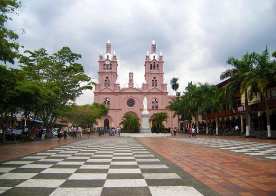 Basilica del Señor de los Milagros in Buga