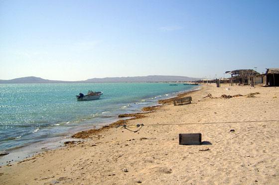 Cabo de la Vela's main beach