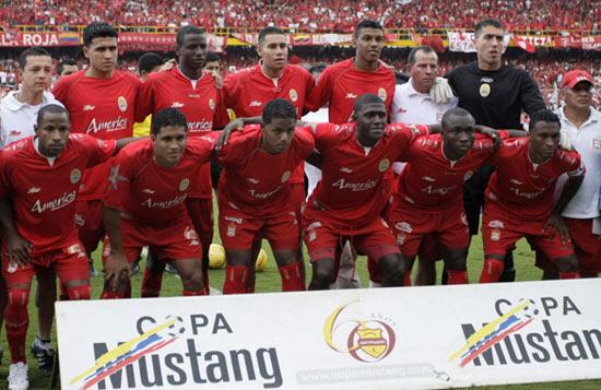 2008 America de Cali team