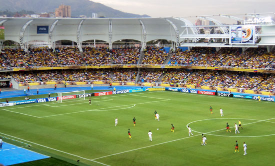 The Pascual Guerrero stadium