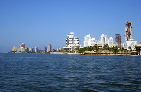 Bocagrande Skyline, Cartagena