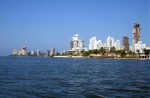 Bocagrande Skyline, Cartagena