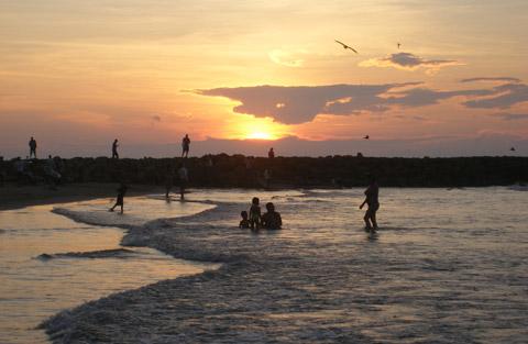 Sunset over Bocagrande 2, Cartagena