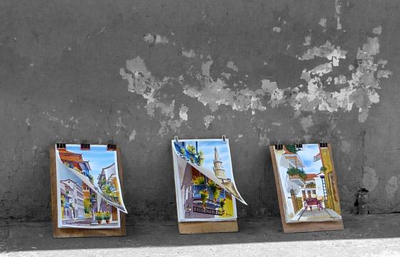 Paintings of Cartagena
