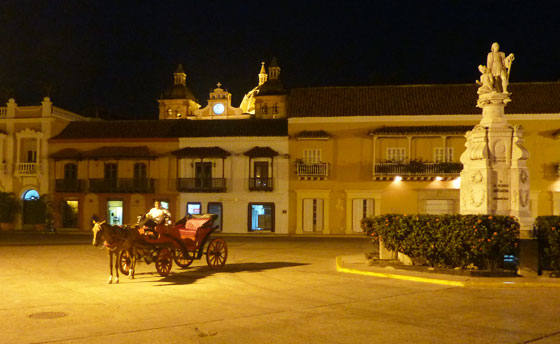 Plaza de la Aduana, Cartagena