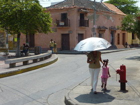 Hot weather Cartagena, Colombia