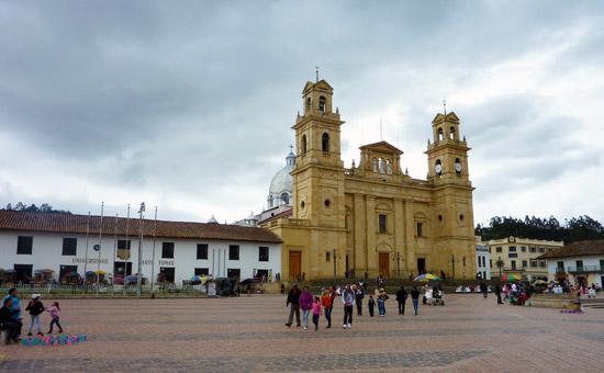 Basilica on Plaza Bolivar Chiquinquira