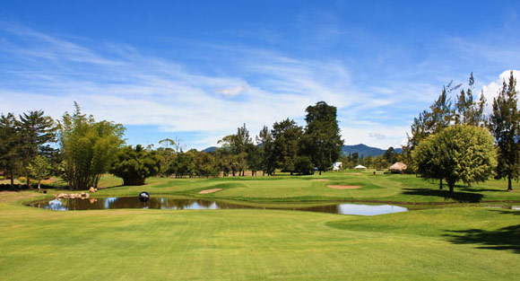 Club Campestre Llano Grande golf course near Medellin