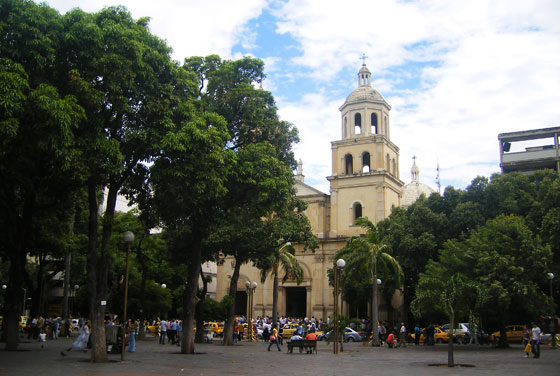 San Jose Cathedral on parque Santander, Cucuta