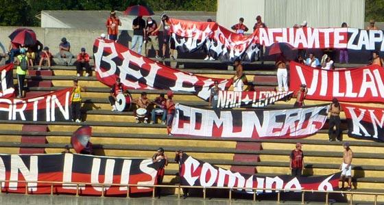 Cucuta Deportivo football fans