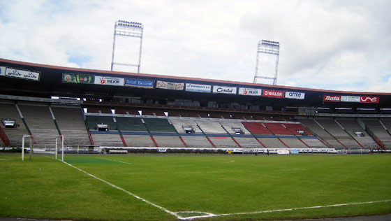 Once Caldas' Palogrande Stadium