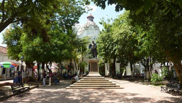 Mompox Plaza de Bolivar