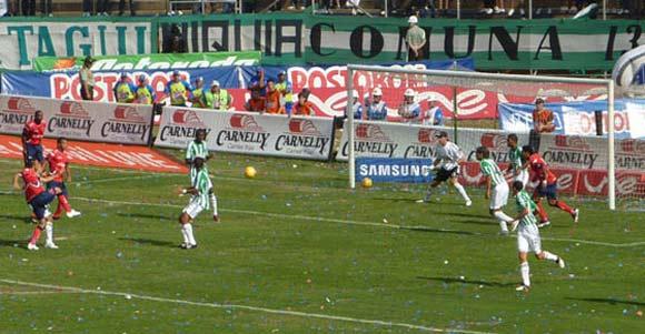 The Atletico Nacional vs Deportivo Independiente Medellin derby