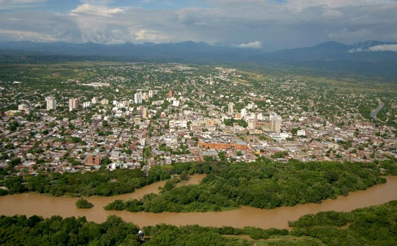 Aerial view of Neiva