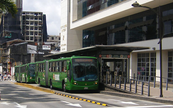 Mega Bus - Pereira's mass-transit bus system