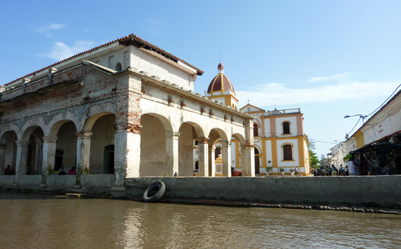 River view of Mompox 3