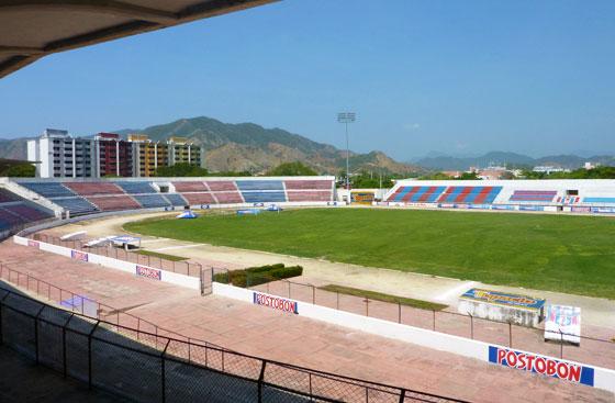 Union Magdalena's Eduardo Santos stadium, Santa Marta