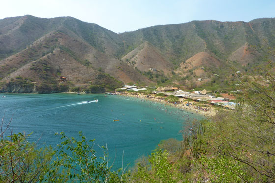 Playa Grande near Taganga