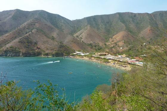 Playa Grande near Taganga