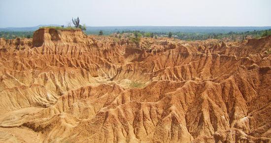 View over Tatacoa Desert, Huila