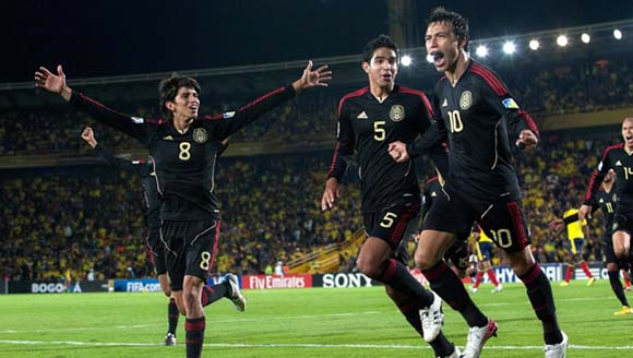 Mexico defeated hosts Colombia 3-1 in Bogota