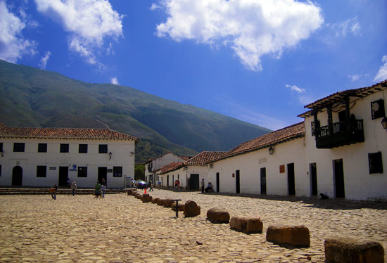 Plaza Mayor in Villa de Leyva