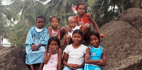 Afro Colombian Kids