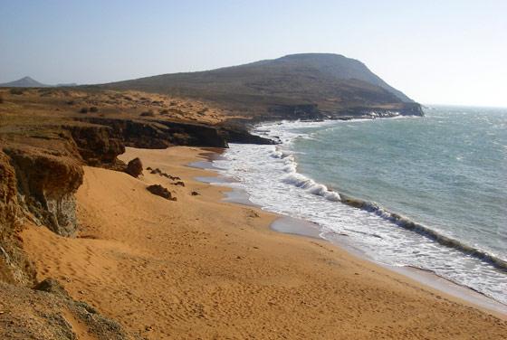 Beach near Cerro Pan de Azucar, Cabo de la Vela