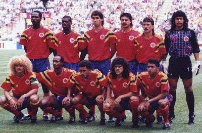 Colombia World Cup squad 1994