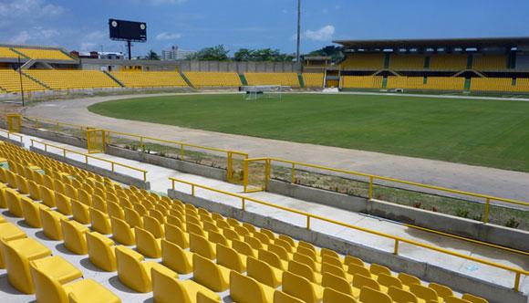 View of Jaime Moron Stadium, Cartagena