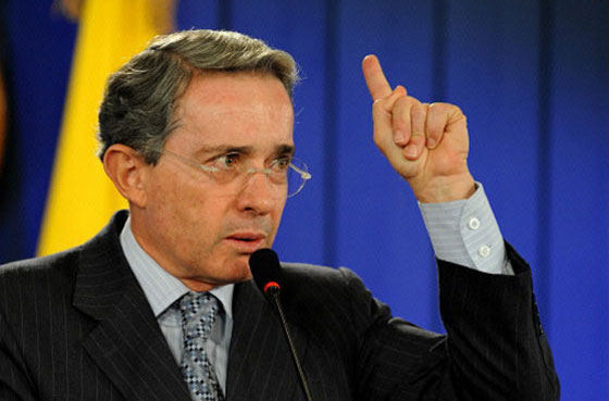 Alvaro Uribe was Colombian Preseident from 2002 to 2010