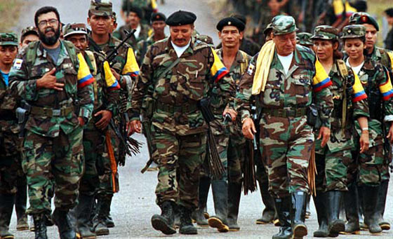 The FARC - The largest guerrilla group in the history of Colombia