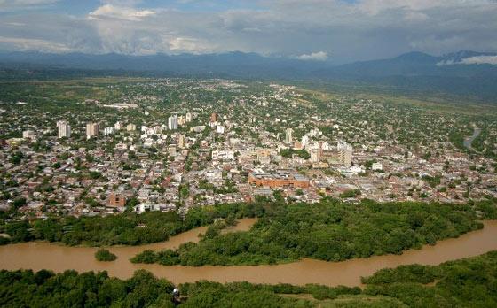 Aerial view of Neiva
