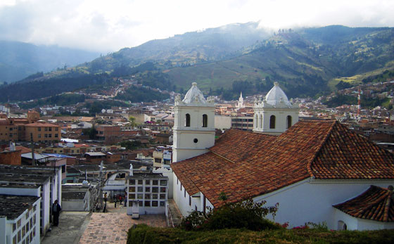 View over Pamplona, Colombia