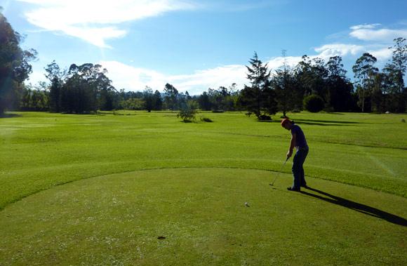 Medellin's Rio Golf course