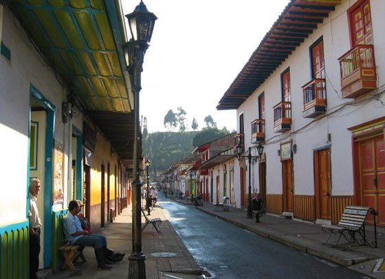 Calle Real in Salento
