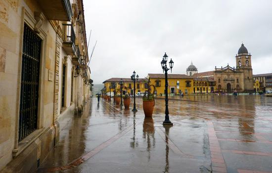 Plaza Bolivar, Tunja